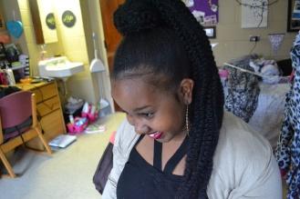 iggy ponytail downward